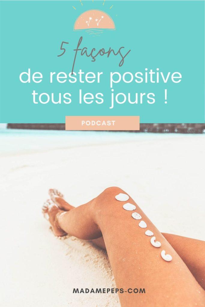 rester positive chaque jour