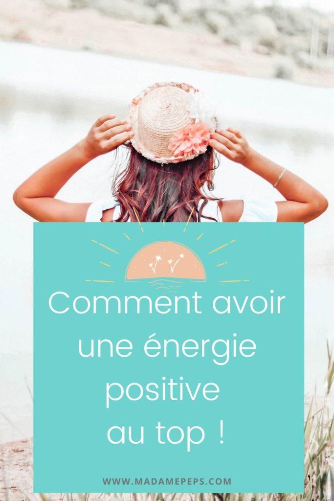 avoir une énergie positive